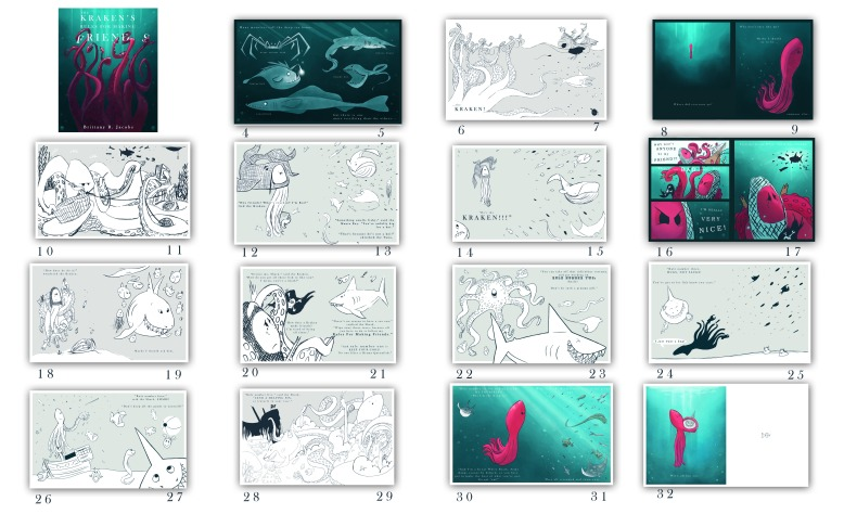 kraken-storyboard